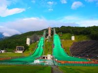 Hakuba Ski Jumping Stadium Stock photo [3290334] Hakuba