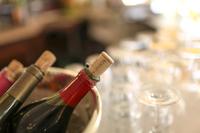 Paris cafes, wine bottle image Stock photo [3290922] Wine