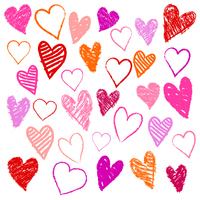 Graffiti-style Heart [3291716] Valentine