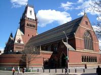 Harvard University Memorial Hall Stock photo [3292347] America