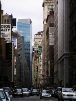 Avenue of New York NY Stock photo [101384] America
