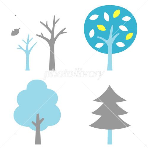 木 冬 枯れ木 イラスト素材 3380633 フォトライブラリー Photolibrary