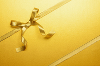 Gold ribbon Stock photo [3375636] Ribbon