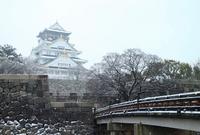 Of snow Osaka Castle Stock photo [3376885] Osaka