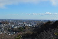 Ashikaga city as seen from Orihime Mt. Stock photo [3472225] Tochigi