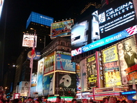 Night Times Square Stock photo [3474174] America