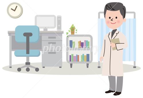 保健室 先生 医者 イラスト素材 3570885 フォトライブラリー