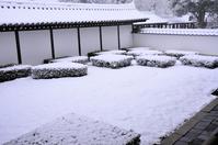 Tofukuji snow garden Stock photo [3564826] Kyoto
