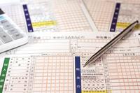 Tax return calculator ballpoint pen Stock photo [3565360] Final