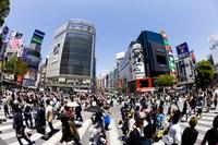 Shibuya Station intersection Stock photo [3567057] Japan