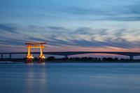 Light-up of Lake Hamana Bentenjima torii Stock photo [3572985] Lake