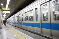Subway Tozai Line Stock photo [3577740] subway