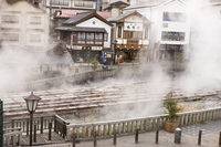 Kusatsu hot spring water field Stock photo [3581518] Kusatsu