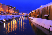 Winter Otaru Canal Stock photo [3582859] Winter