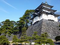 Edo Castle of Fujimi tower Stock photo [3689137] Tokyo