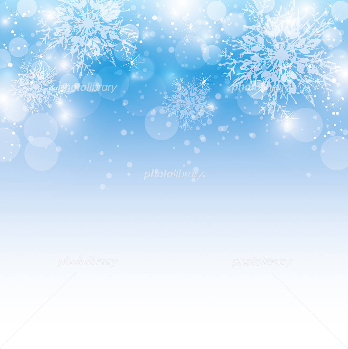 Snowflake background イラスト素材