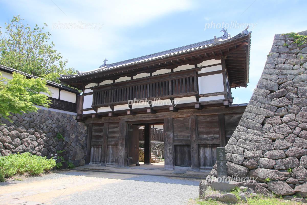 Komoro Castle Otemon Photo