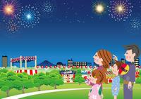 Summer festival streets [3788663] An