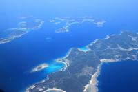 Kerama Islands seen from the sky Stock photo [3791611] Kerama