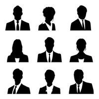 Businessman silhouette [3792908] Businessman