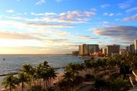 Evening of Waikiki Beach Stock photo [3795868] Hawaii