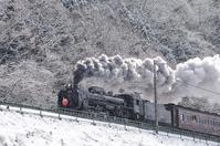 SL train to go the Joetsu Line of snow Stock photo [3796468] SL