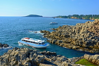 Tojinbo pleasure boat Stock photo [3800089] Tojinbo