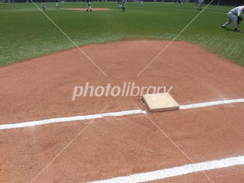 一塁ベース 写真素材 [ 3904537 ] - フォトライブラリー photolibrary