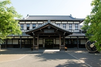 SL Holy Land plum alley steam locomotive building of Stock photo [3907420] Kyoto