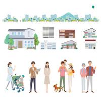 Shop shop person illustrations [3909398] Map