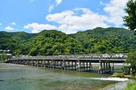Kyoto Arashiyama summer of Togetsukyo Stock photo [3986264] Togetsukyo