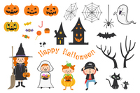 Halloween material [3987918] Halloween