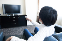 TV and remote control Stock photo [3993239] tv