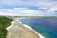 Guam, view from Lovers Point Stock photo [3995306] Guam