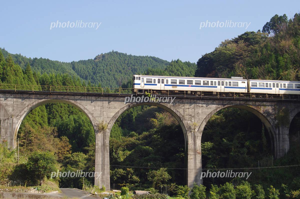 JR Kyushu Kuriki field bridge Photo