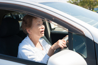 Operation of elderly car Stock photo [4076752] Senior