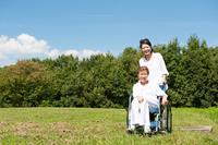 Wheelchair of elderly care Stock photo [4077094] Wheelchair