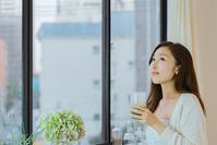 Women's pajamas drinking smoothies Stock photo [4078800] Smoothie