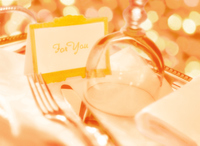 Bon of glass and fork and knife Stock photo [4151868] Restaurant