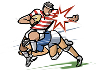 Rugby - Tackle [4155891] rugby
