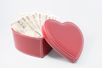 Love and money Stock photo [4156175] heart