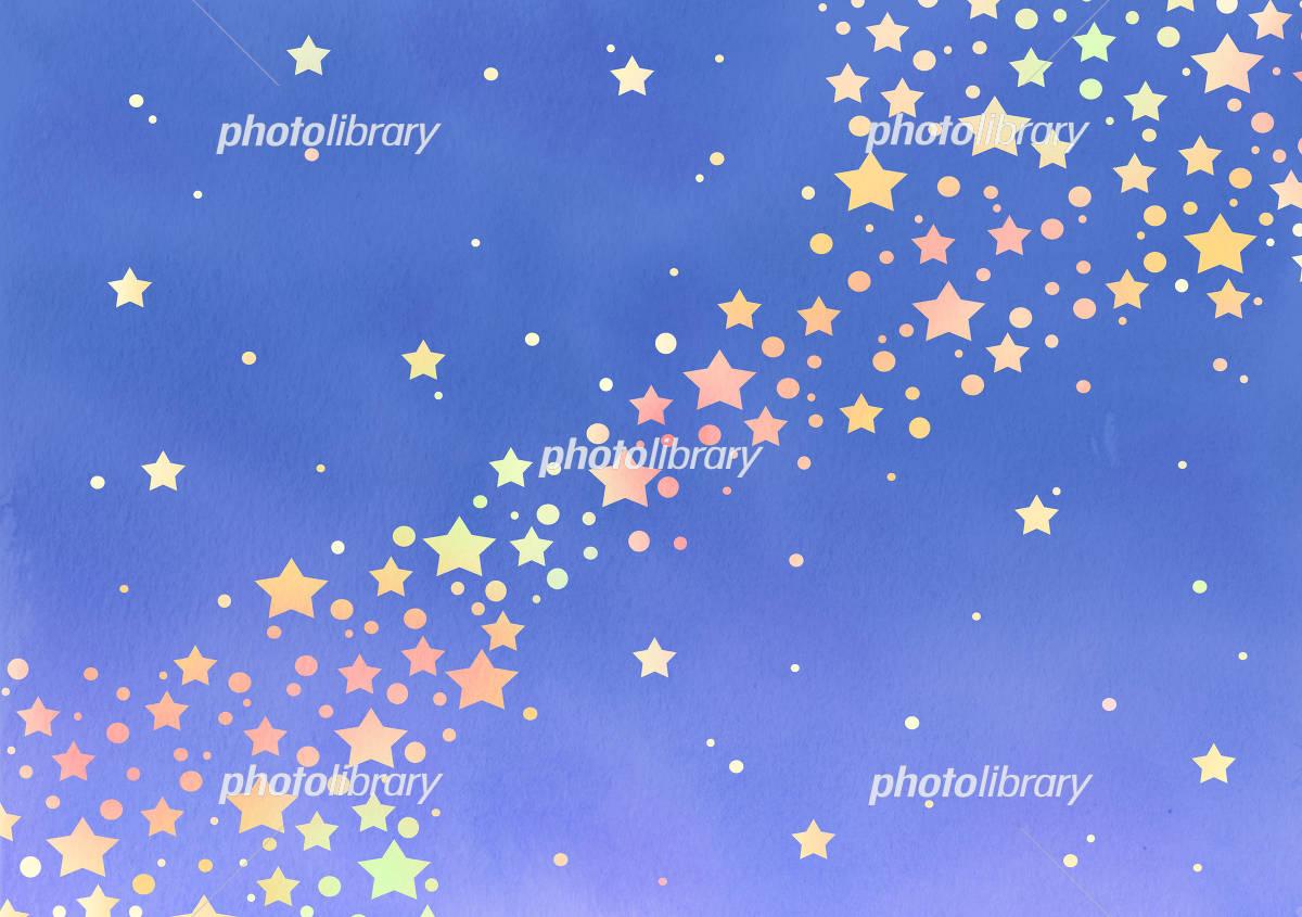 天の川 イラスト素材 4204641 フォトライブラリー Photolibrary