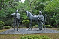 Maeda Toshiie and pine image of (Komaruyama Castle) Stock photo [4194620] Komaruyama