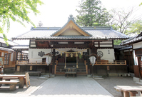 Ueda Castle Sanada shrine Stock photo [4195260] scaffold