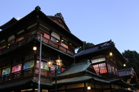 Dusk of Dogo Onsen Main Stock photo [4197536] Dogo