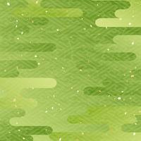 Matcha fresh green haze pattern background [4198181] Green