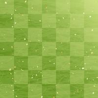 Matcha fresh green checkered background [4198189] Green