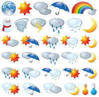 Weather icon [4199926] weather