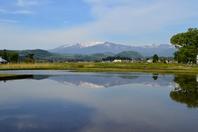 Rural landscape of Miyagi Prefecture Stock photo [4203701] Zao