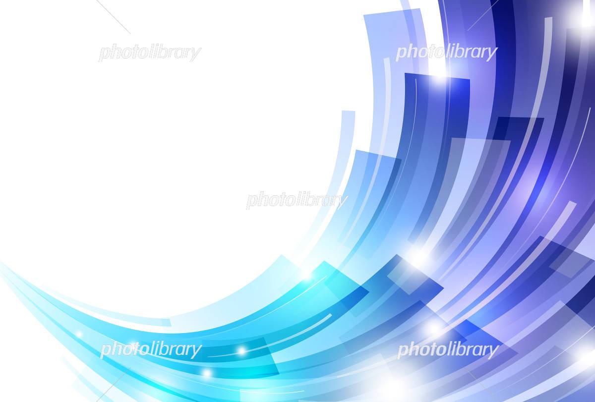 背景 青 アブストラクト イラスト素材 [ 4247673 ] - フォトライブ ...